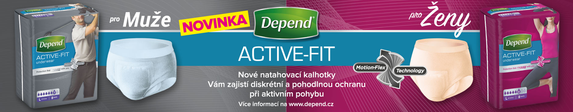Depend Active-Fit